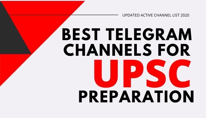 Best Telegram Channels for UPSC Preparation