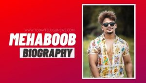 Mehboob Shaikh Biography