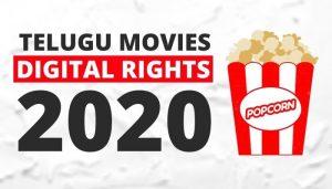 Telugu Movies Digital Rights 2020