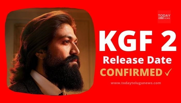 KGF Chapter 2 Release Date Confirmed