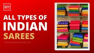 Types of Indian Sarees
