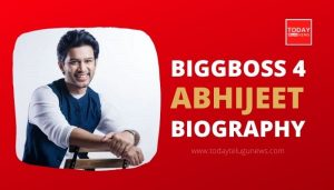 Biggboss 4 Abhijeet Biography